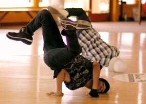Instructor standard street dance