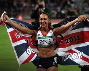 2012 Olympic gold medallist Jessica Ennis