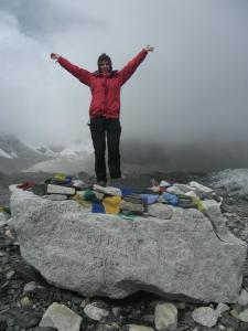 Celebrating at EVEREST BASE CAMP!