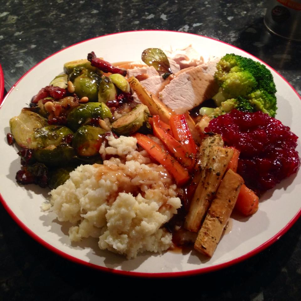 Paleo Christmas dinner | Hannah's Happy Pace
