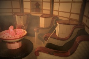 Japanese Salt Bath - picture cred to Center Parcs